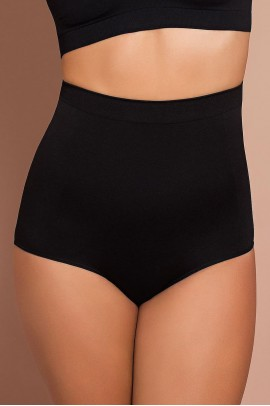Black Slimming High Waist Brief